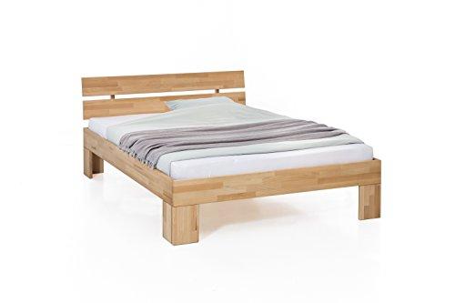 Unbekannt Massivholz-Bett Nano 200 x 200...