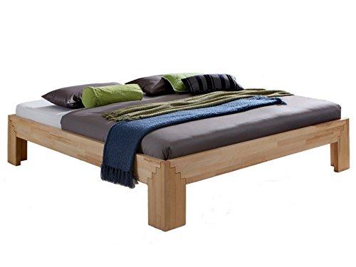 Unbekannt Massivholz-Bett Selina 180 x...
