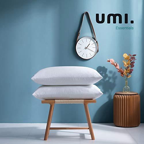 Amazon Brand - Umi Kopfkissen 48x74cm...