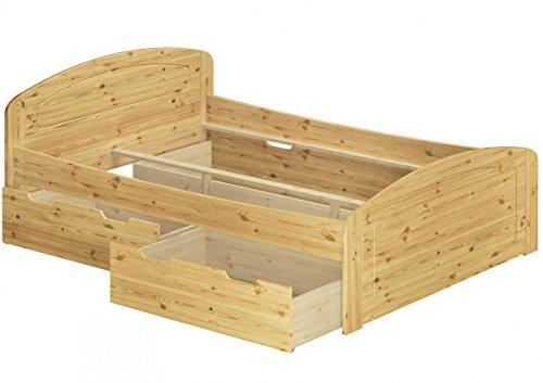 Erst-Holz® Funktionsbett Doppelbett 3...