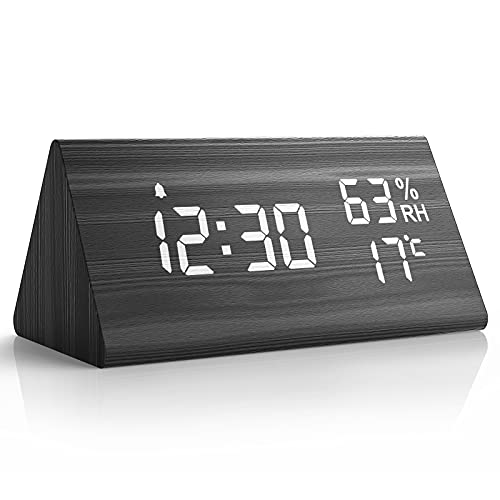 NBPOWER Wecker Digital LED Digitale Uhr...