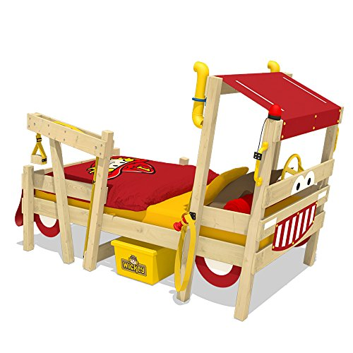 WICKEY Kinderbett Hausbett Crazy Sparky...
