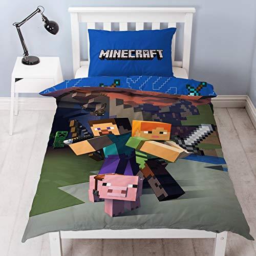 Minecraft – Wendebettwäsche-Set,...