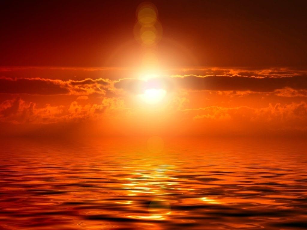 Tageslichtwecker - Sonnenuntergang