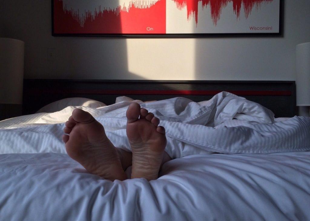 Vibrationsarmand aufwachen