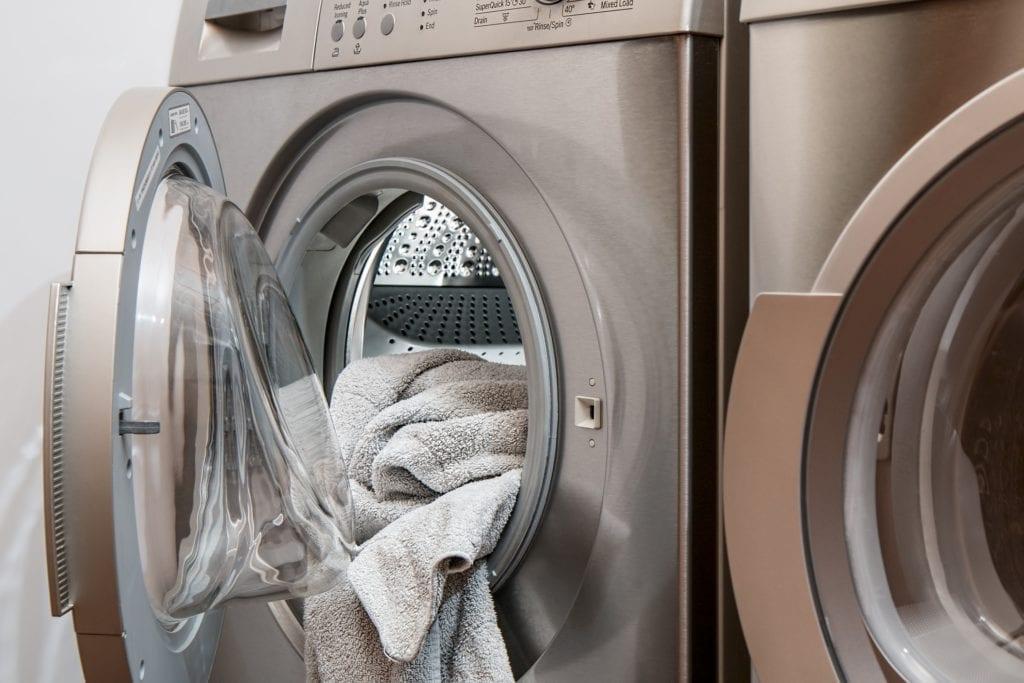 Plüsch Bettwäsche - Waschmaschine