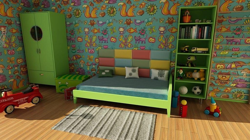 Kinderzimmer Nacht