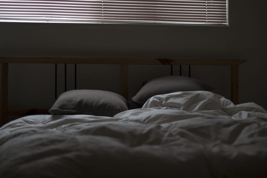 Bett Höhe