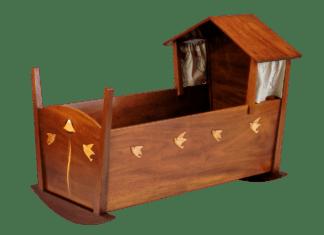 Kinderbett Haus