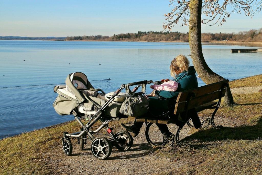 Kinderwagendecke - Ausflug