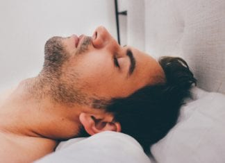 Sabbern im Schlaf