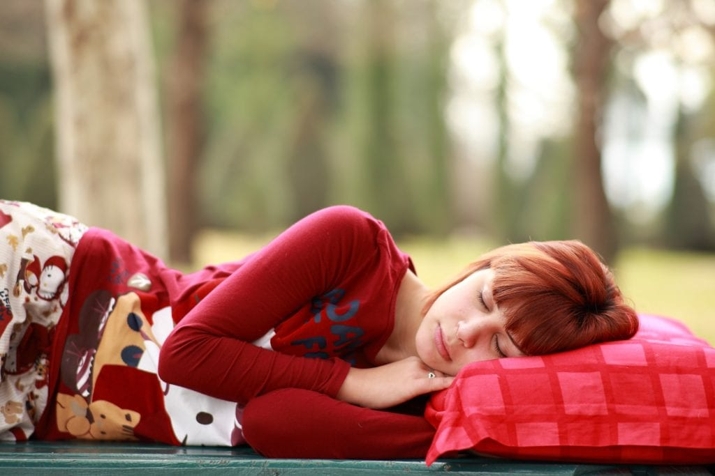 Schlafposition - Kissen