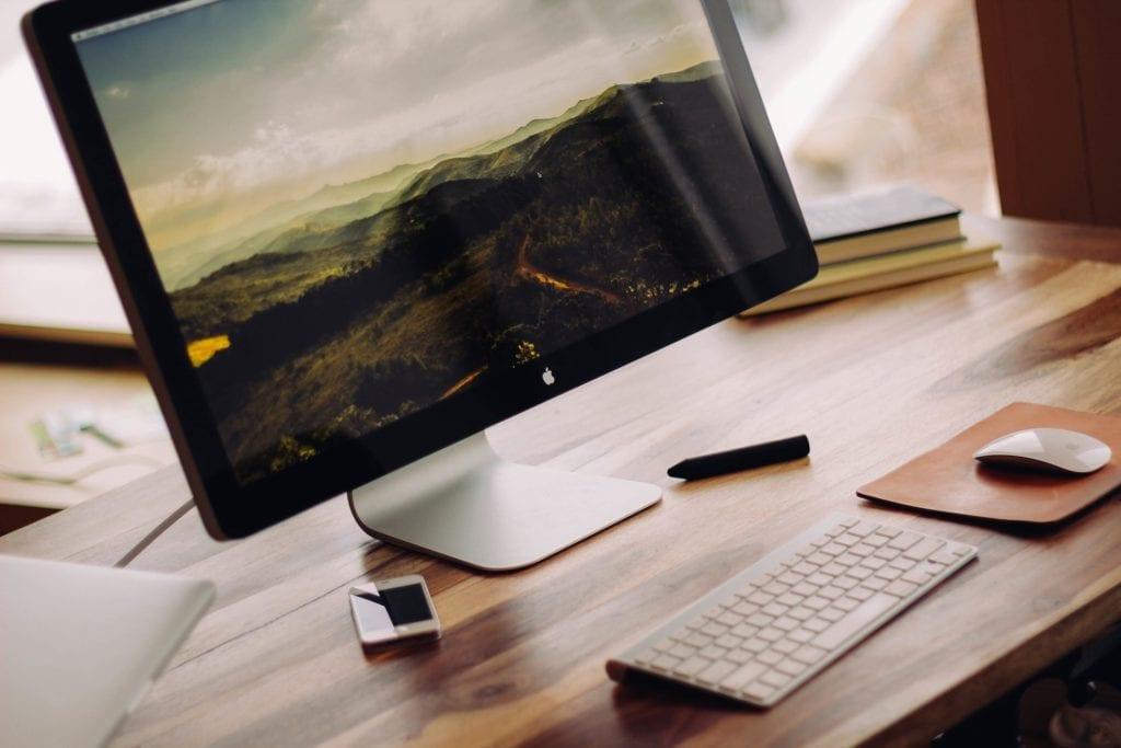 Schreibtisch - Heizdecke