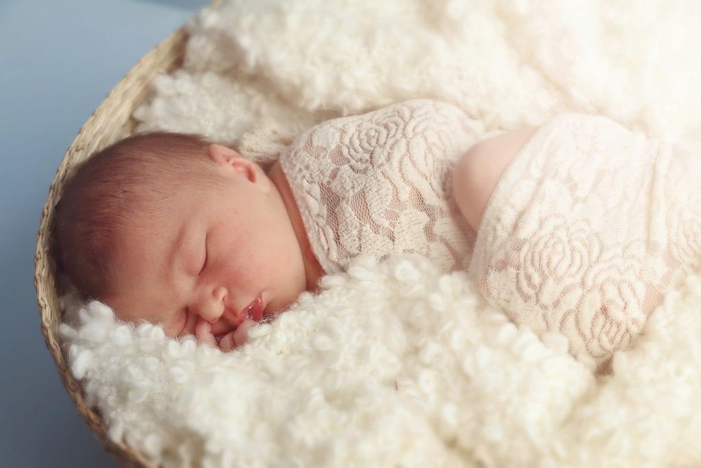Elektrische Babywippe - Schlaf