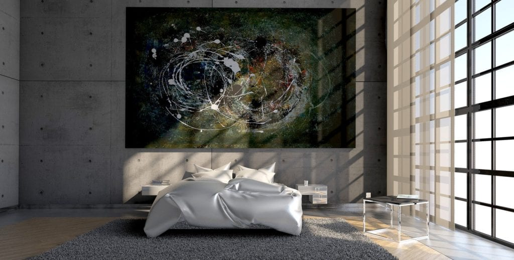 Boxspringbett ohne Kopfteil - Moderne Schlafzimmer