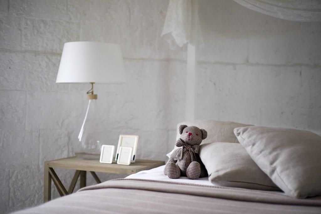 Gelkissen Bett