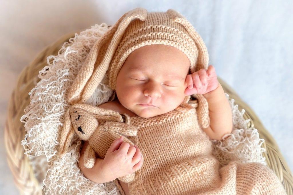 Baby Geborgenheit