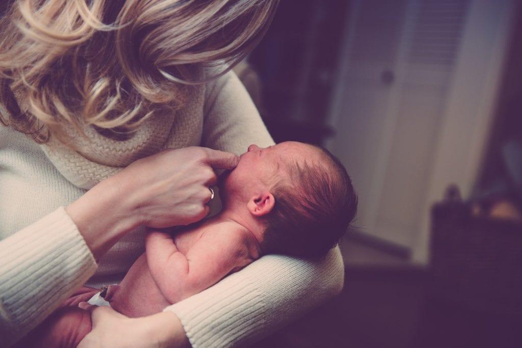 Baby wiegen