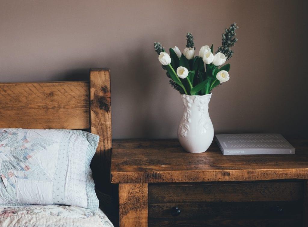 Holz im Schlafzimmer