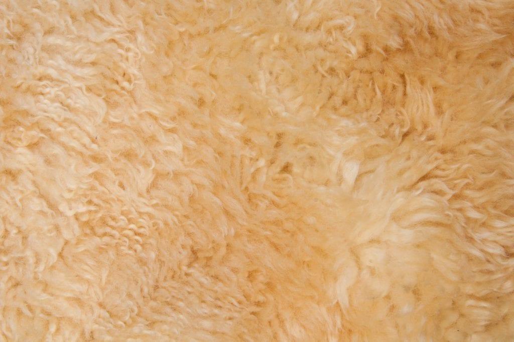 Kinderwiege - Lammfell