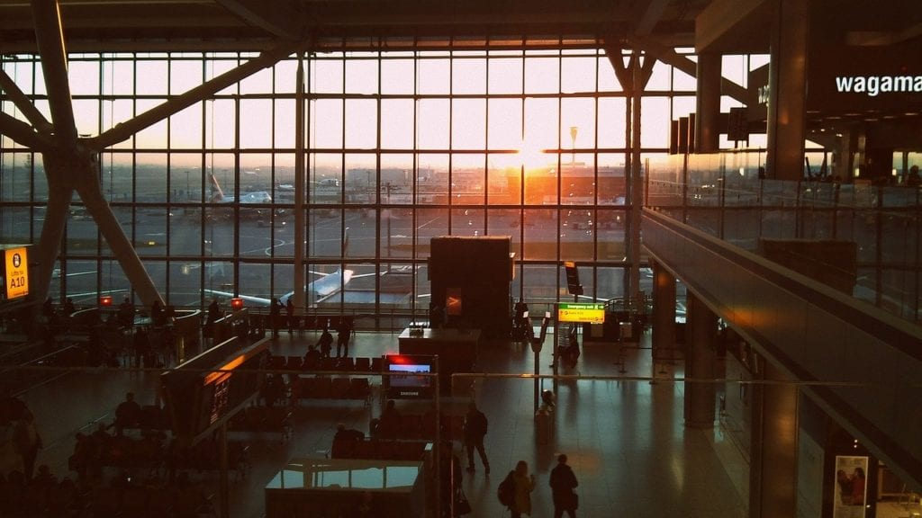 Flughafen - Reisedecke