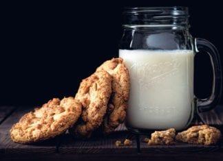 Warme Milch zum Einschlafen