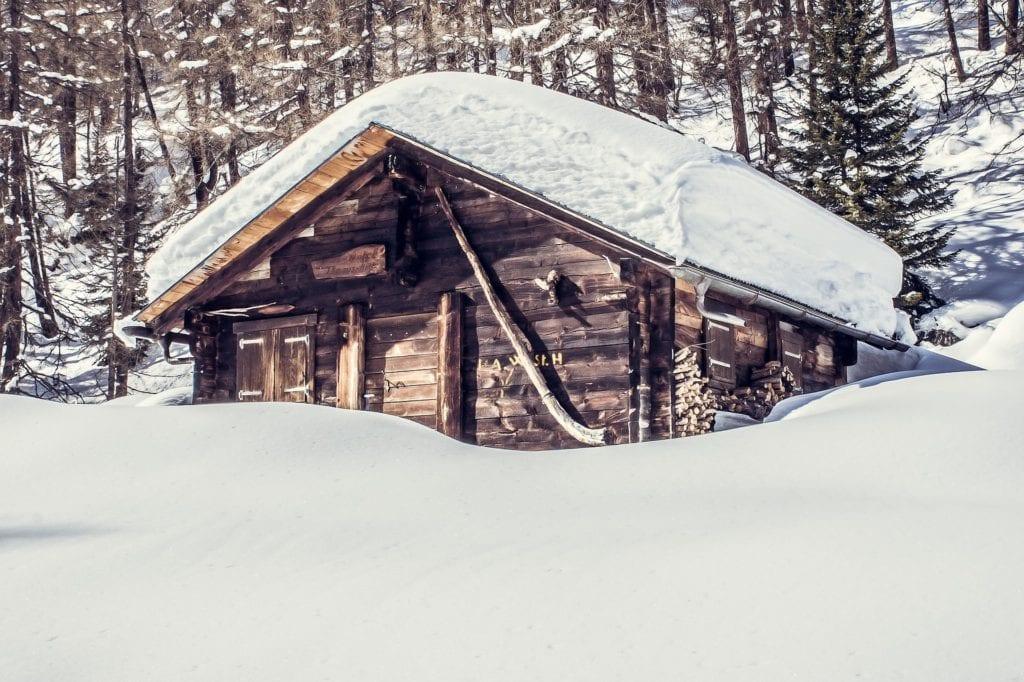 Flanell Bettwäsche - Berghütte