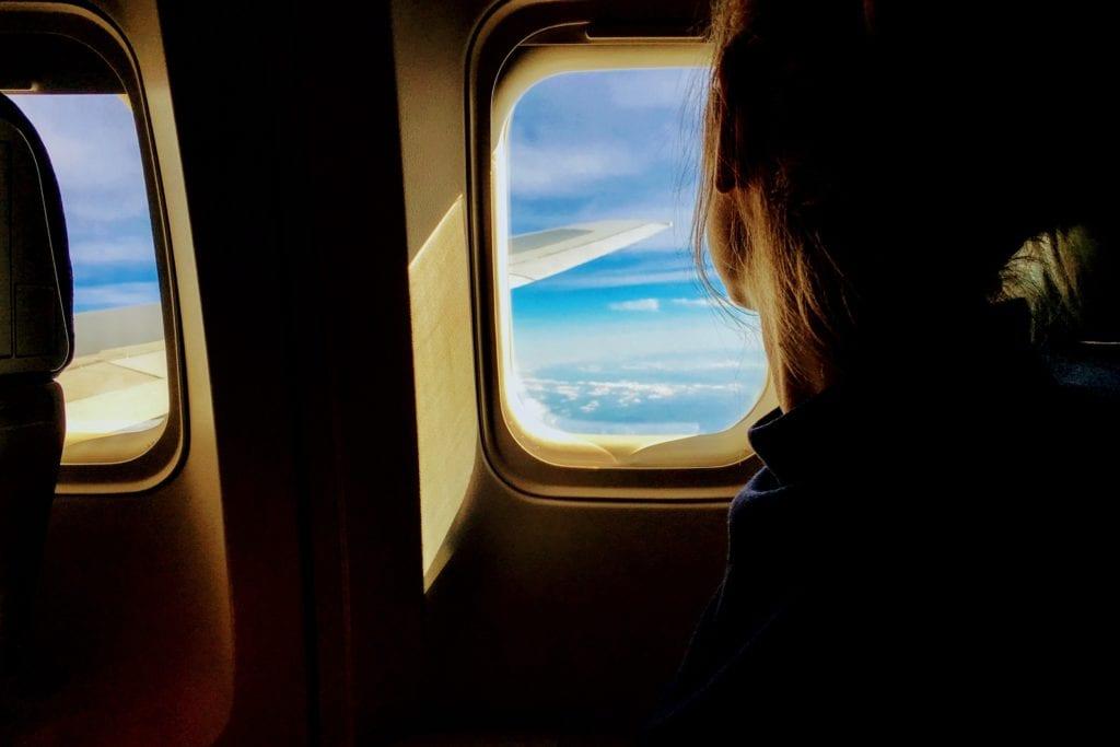 Flugzeug - Fensterplatz