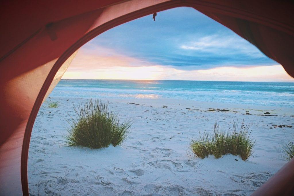 Camping - Strand