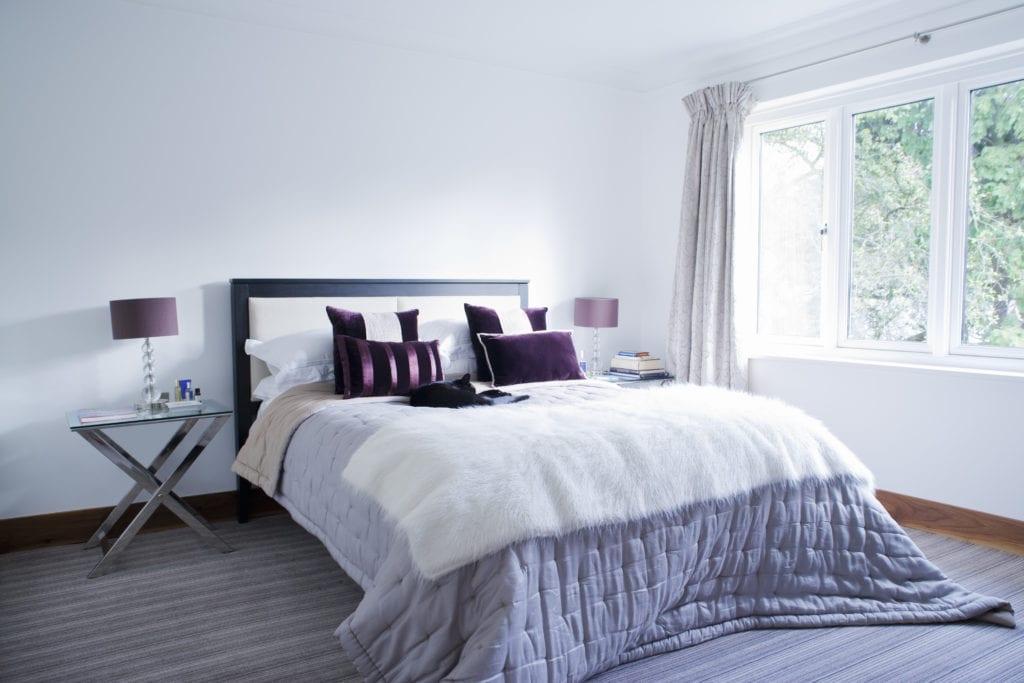 Milben im Bett - Lüften