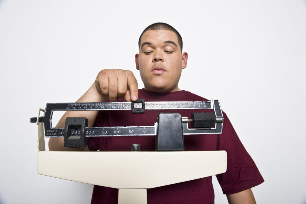 Übergewicht - Belastung Matratze