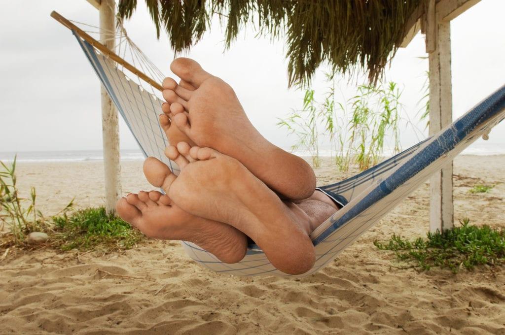 Fußmassage - Regeneration