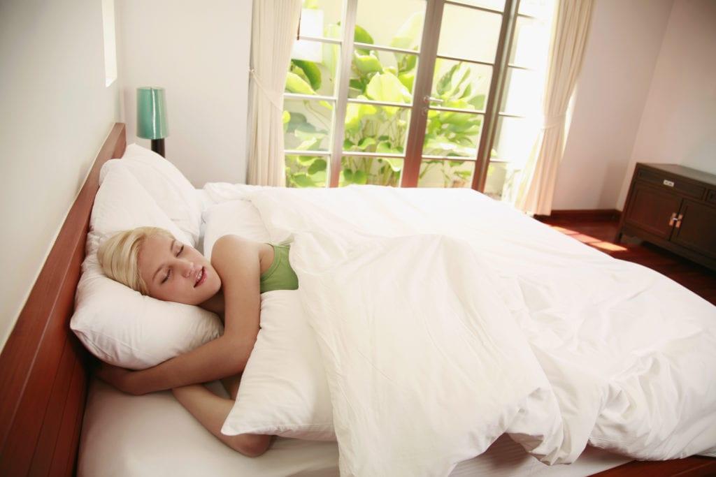 Seitenschlaf - Belastung
