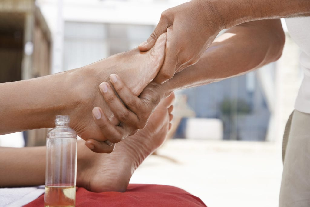 Shiatsu Massage - Fuß