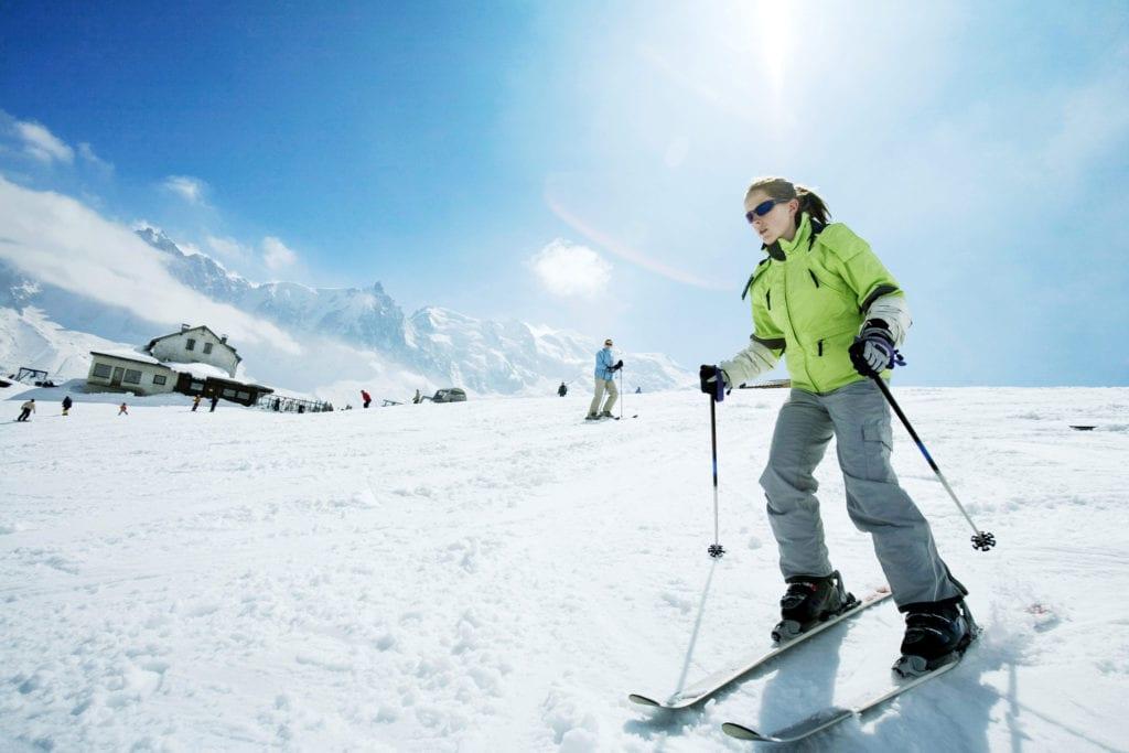 Nierenwärmer - Skifahren
