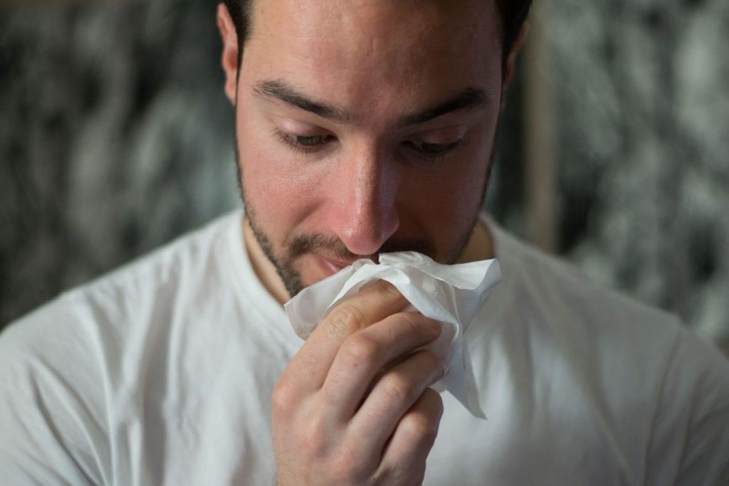 Allergie im Bett