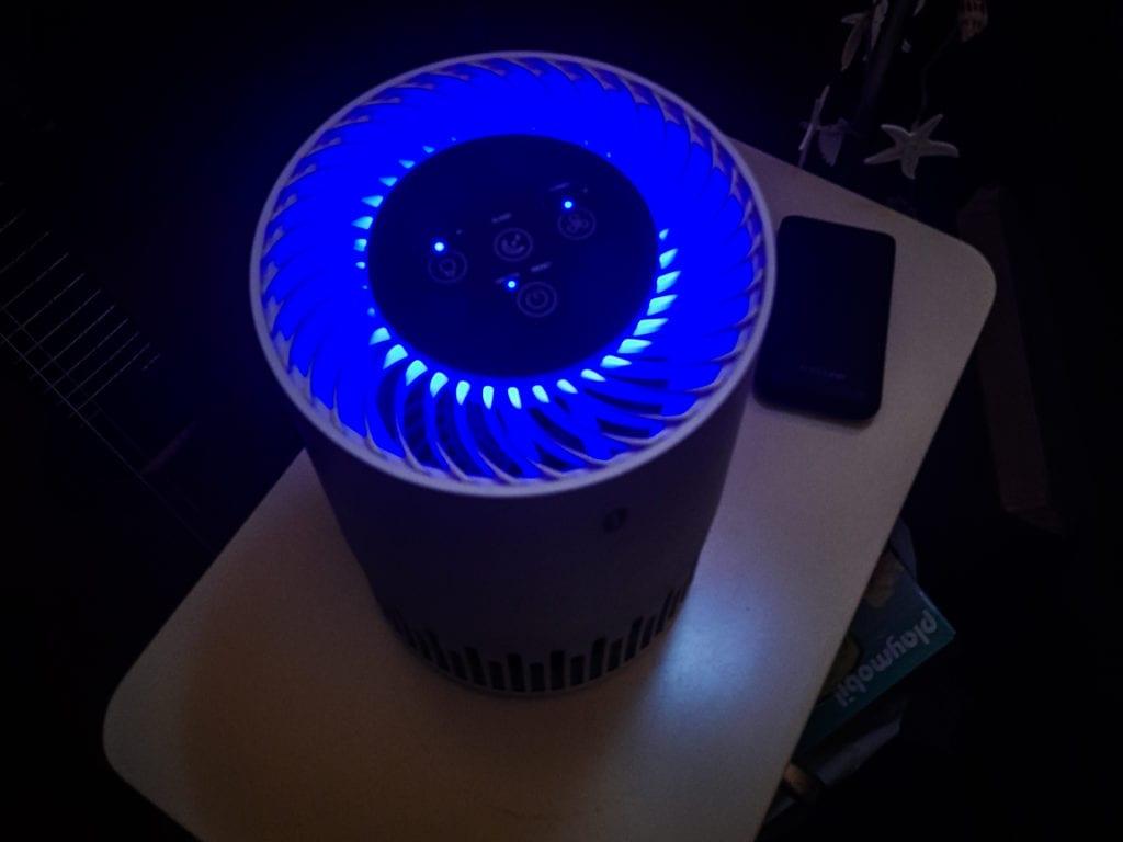 TaoTronic Luftreiniger - Nachtlicht
