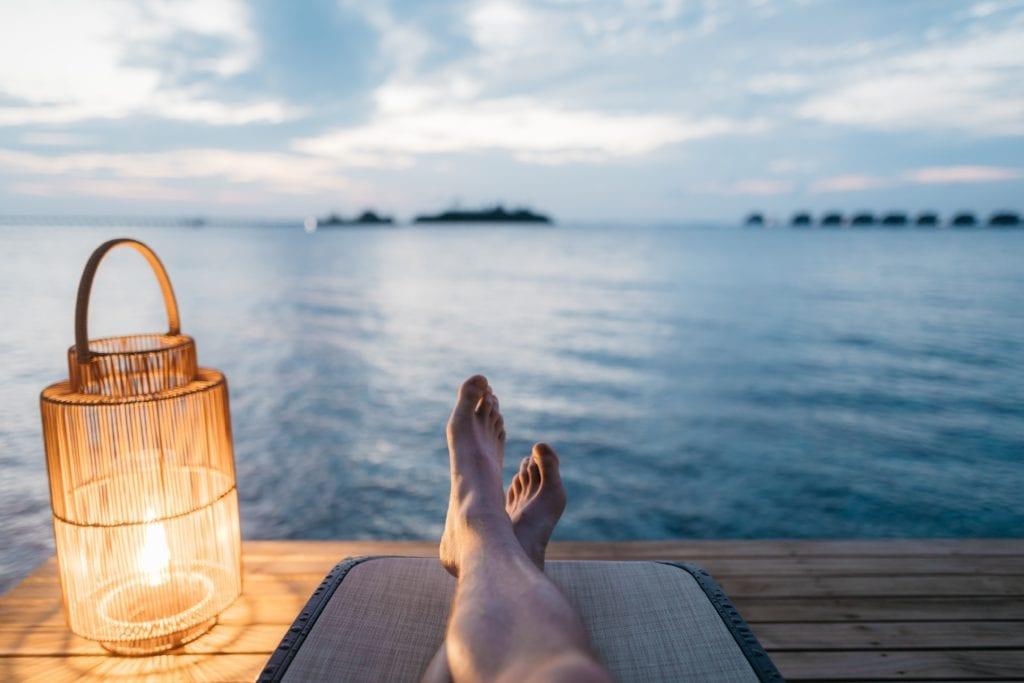 Wadenmassagegerät - Entspannung