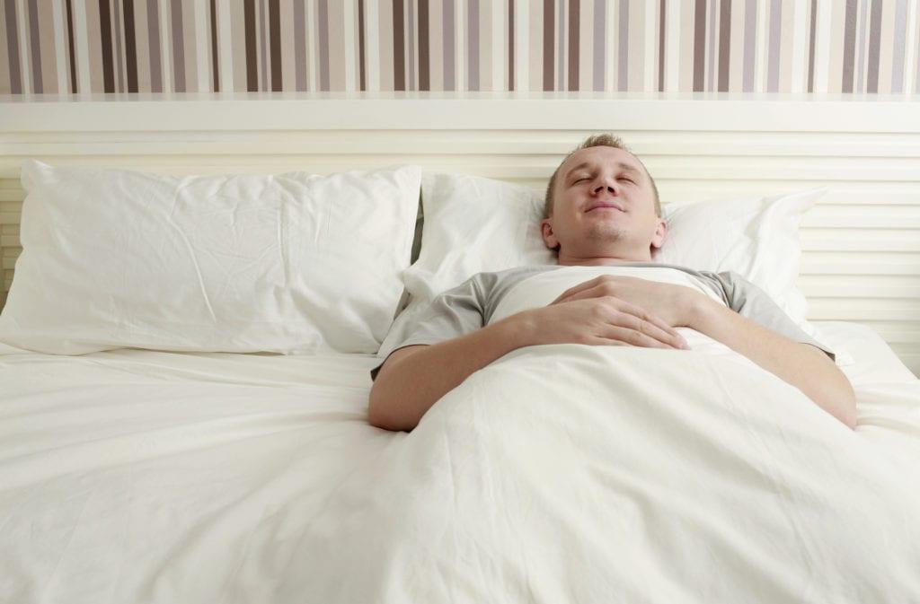 Rückenschlaf - Nackenschmerzen