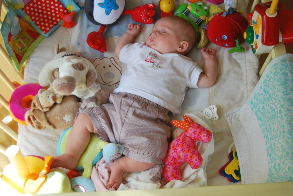 Plötzlicher Kindstod - Wiege