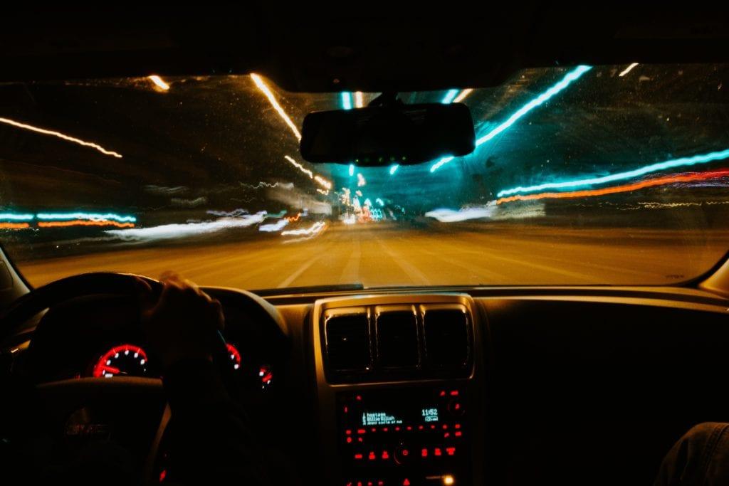 Schlafmangel - Autofahren
