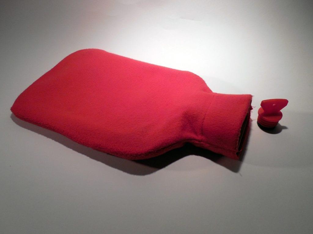 Wärmflasche - Bett