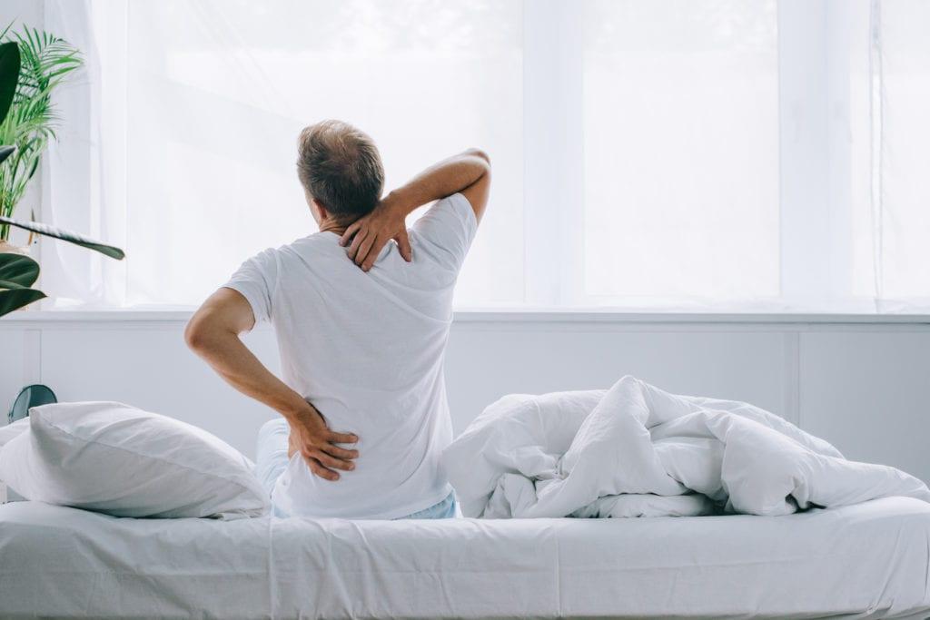 Harte Matratze - Rückenschmerzen