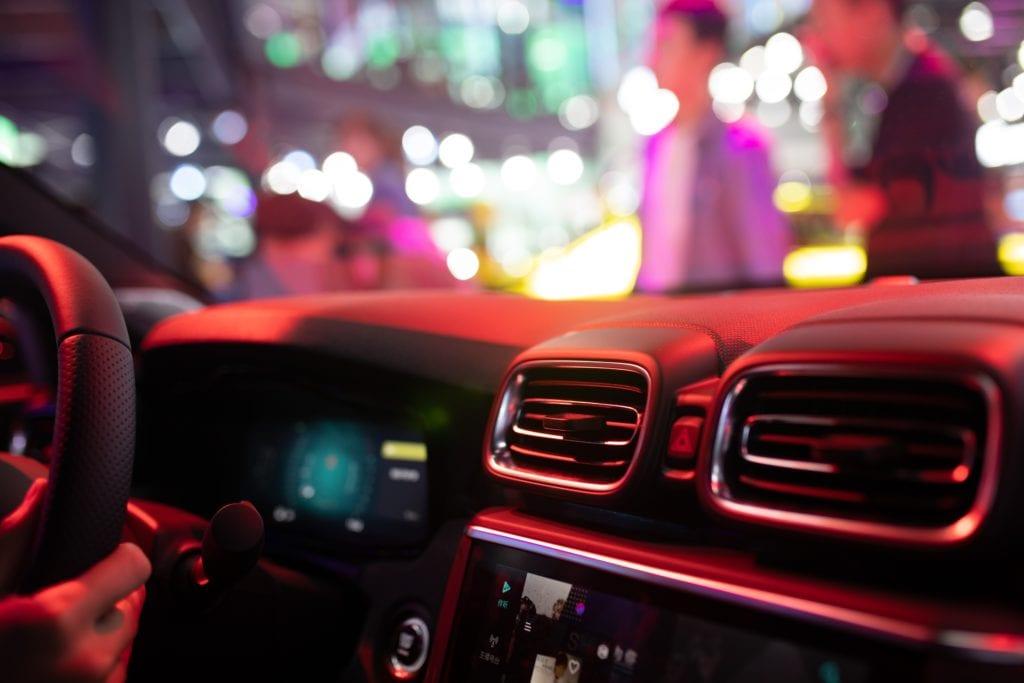 Schlafmangel - Autofahrt