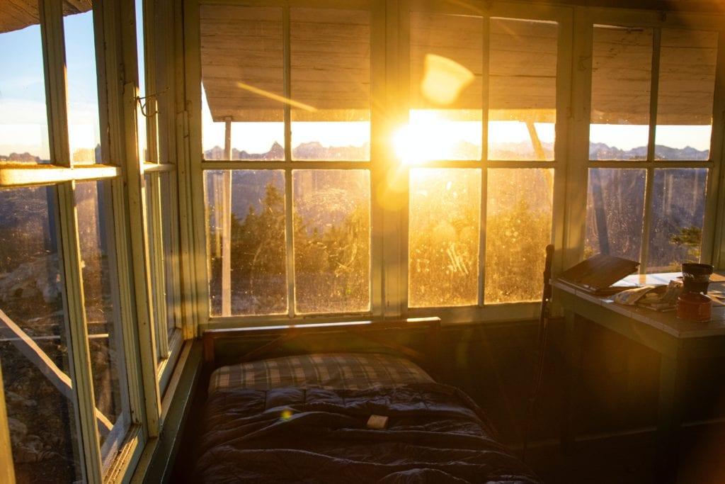 Sonnenaufgang - Schlafzimmer