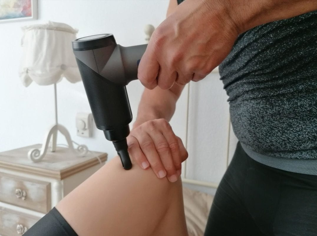 Massagepistole - Ausführung