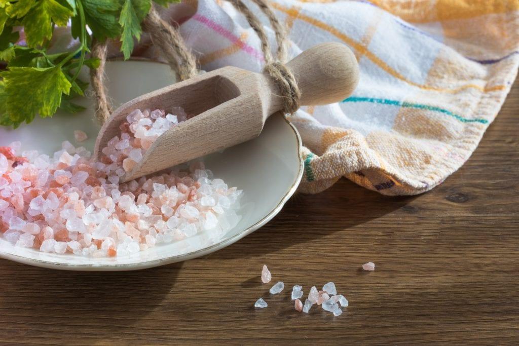 Salz gegen Schimmel