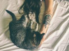 Frisches Tattoo schlafen