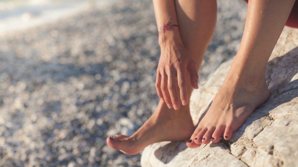 Fußmassage - Plantarfasziitis