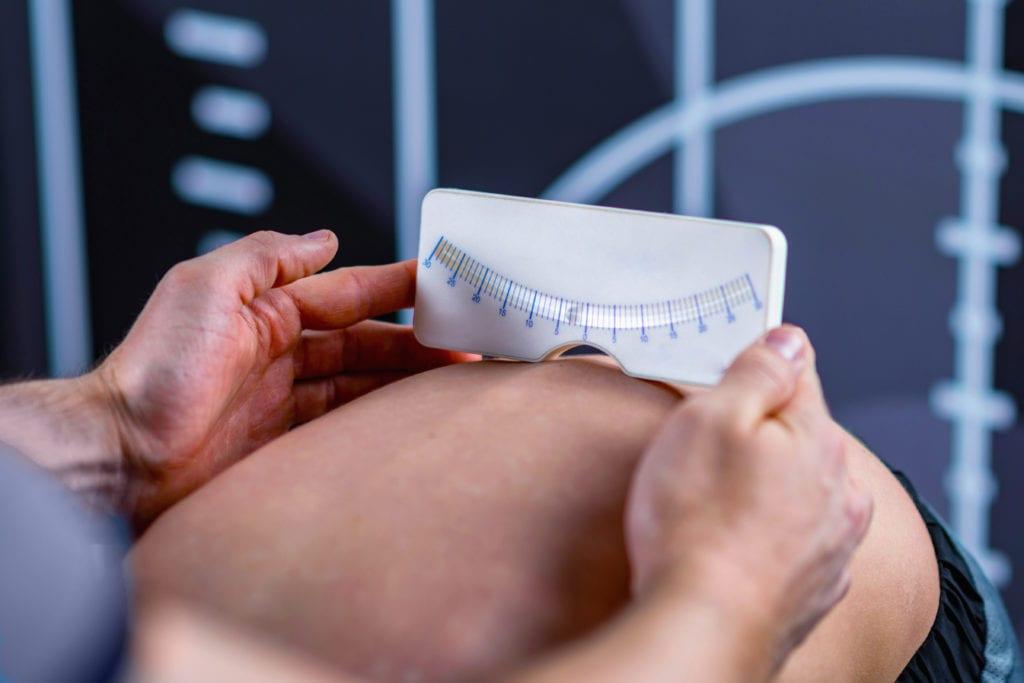 Skoliose und Gewichtsdecke